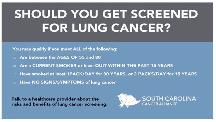 Lung Cancer - SC Cancer Alliance